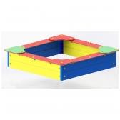 ARTDIO-204 Smėlio dėžė su sėdimais kampais