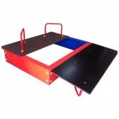 ARTDIO-207 Smėlio dėžė su dangčiu