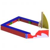 ARTDIO212 Smėlio dėžė ''Laivas''