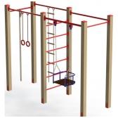 ARTDIO-655 Gimnastikos kompleksas su sūpynėmis