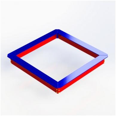 ARTDIO202 Faneruota smėlio dėžė