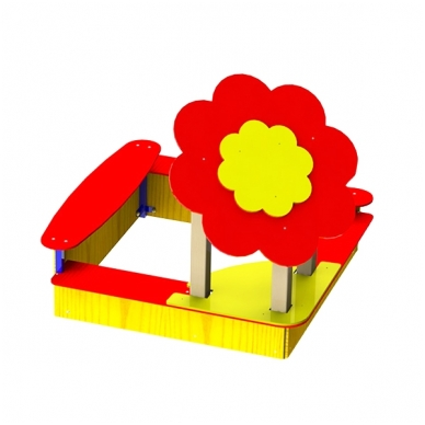 ARTDIO-209 Smėlio dėžė ''Gėlė''