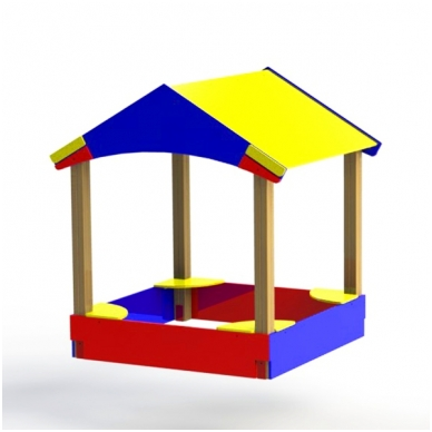 ARTDIO-210 Smėlio dėžė ''Namelis''