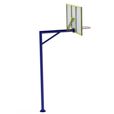 """ARTSG-411 Krepšinio lenta su stovu """"FIBA"""""""