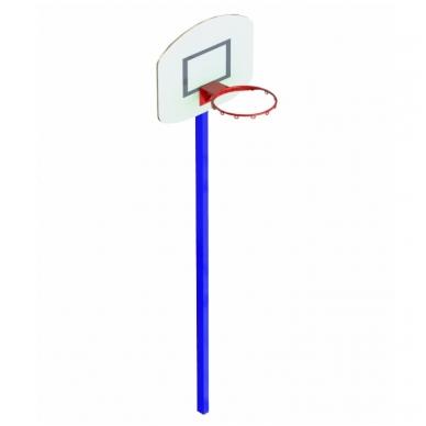 ARTSG412 Viengubas krepšinio lankas su stovu