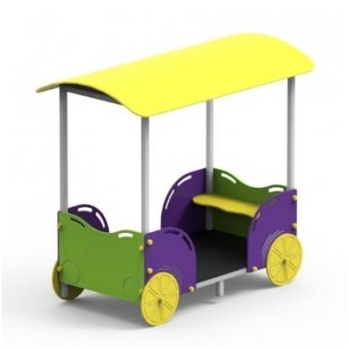 """Žaidimų kompleksas """"Traukinuko vagonas"""""""