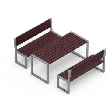 Stalo ir suoliukų komplektas AV223