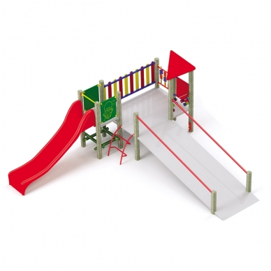 Žaidimų Aikštelė nr.5 neįgaliesiems AV35