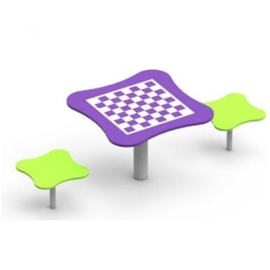 """Žaidimų stalas """"Šachmatai"""" AV202"""
